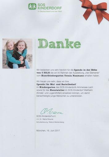 Versteigerung für Kinderhospiz