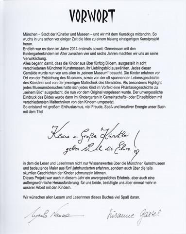 """KunstKiga Buch """"Kleine Künstler"""""""